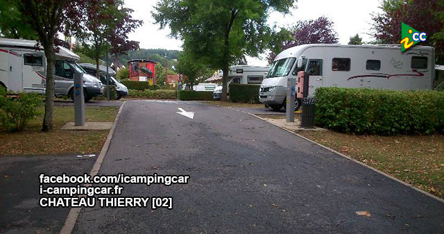 chateau thierry 2 aire de services et de stationnement camping cars. Black Bedroom Furniture Sets. Home Design Ideas